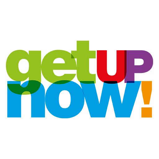 Logo GetUpNow