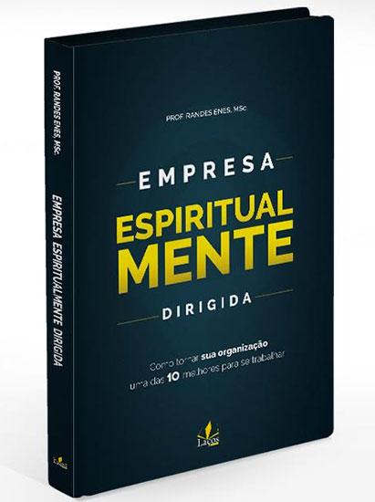 """Capa do Livro """"Empresa Espiritualmente Dirigida"""""""