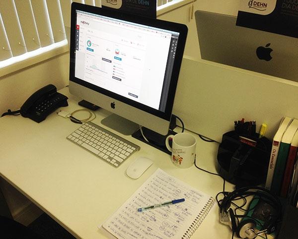 Mesa de Trabalho | Produtividade