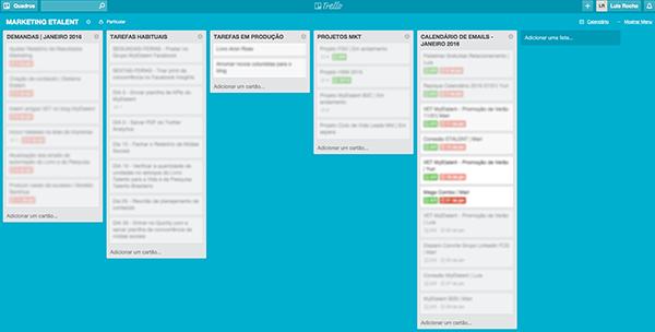 Calendário de Tarefas Trello | Produtividade