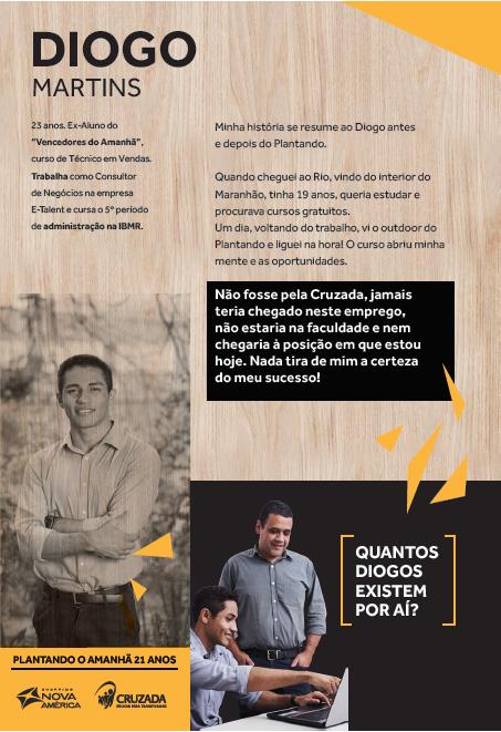 História de sucesso: Diogo Martins