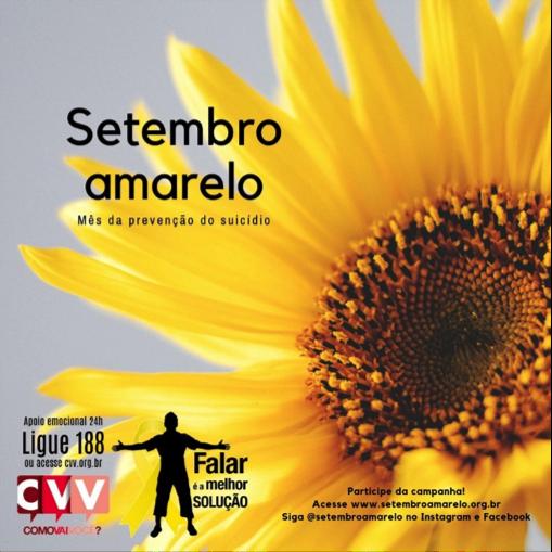 Setembro Amarelo | CVV